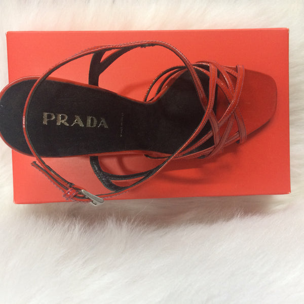 Strappy Prada Wedges