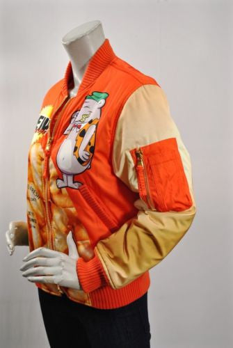 MOSCHINO Couture 'Laugh & Puffs' Bomber Jacket