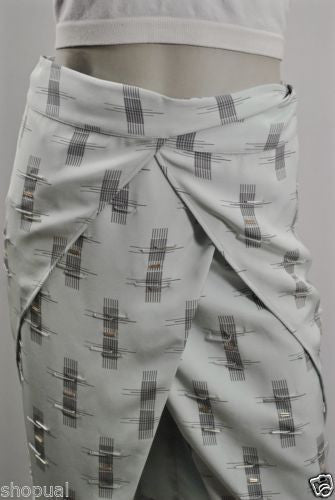 Roomeur Wrap Pencil Skirt