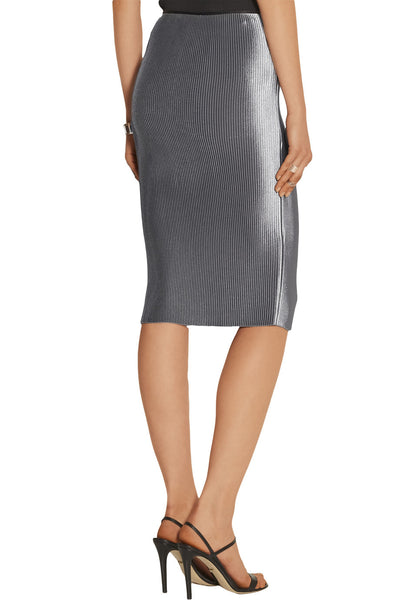 Barbara Casasola Straight Pencil Skirt