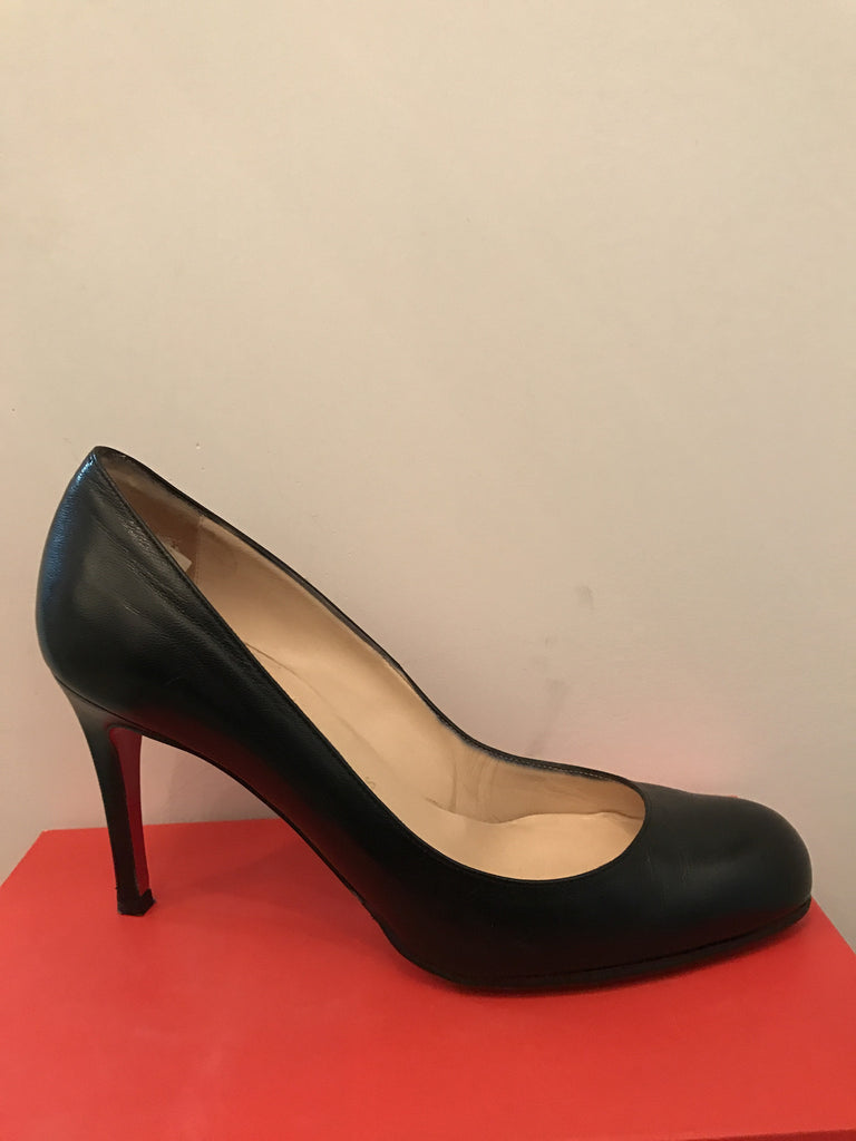 Simple Round Toe Louboutin Heel