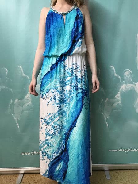 Style and Co Waterfall Gown