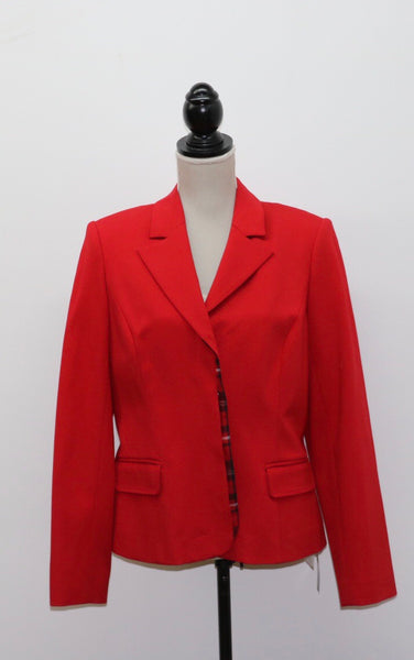 Simon Chang Red Blazer