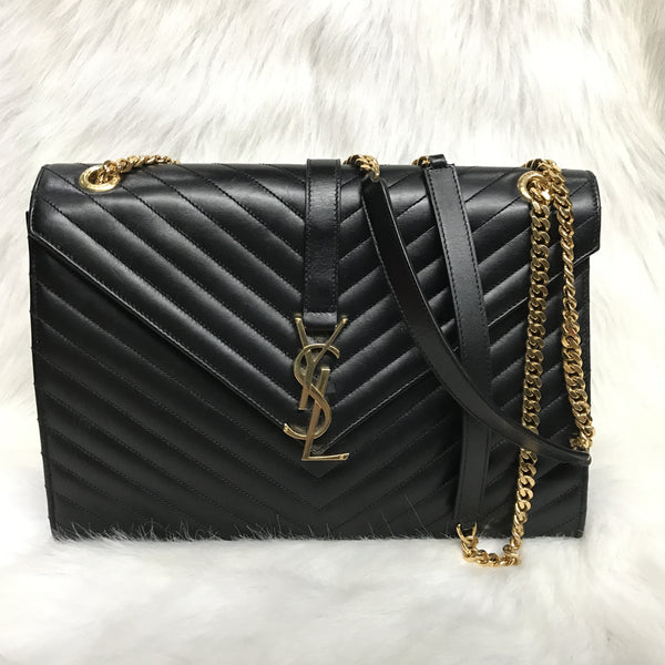 YSL Napa Shoulder Bag