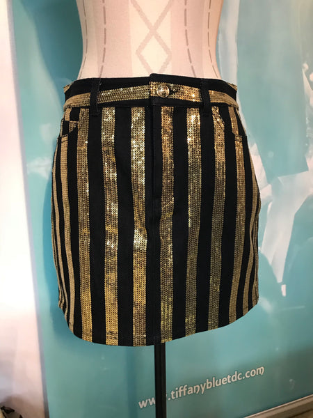 MK Black Gold Skirt