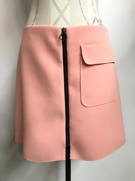 Top Shop Zip Skirt