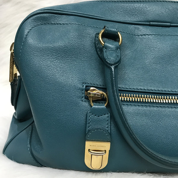 Turquoise Marc Jacobs Shoulder Bag