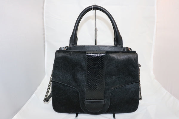 Claire Black Day Purse