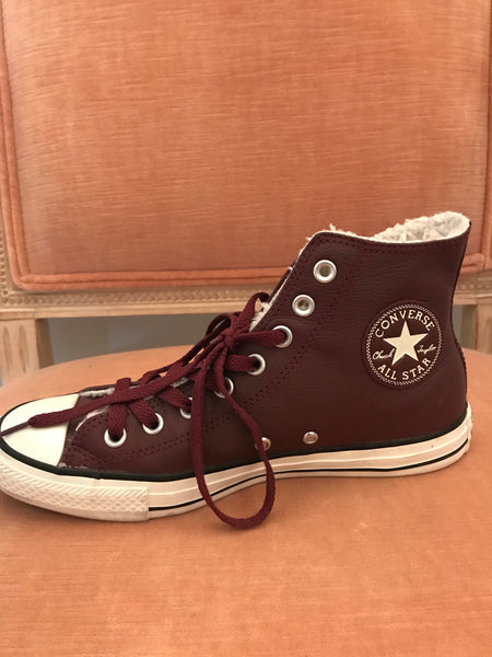 """What a Maroon"" Converse Shoes"