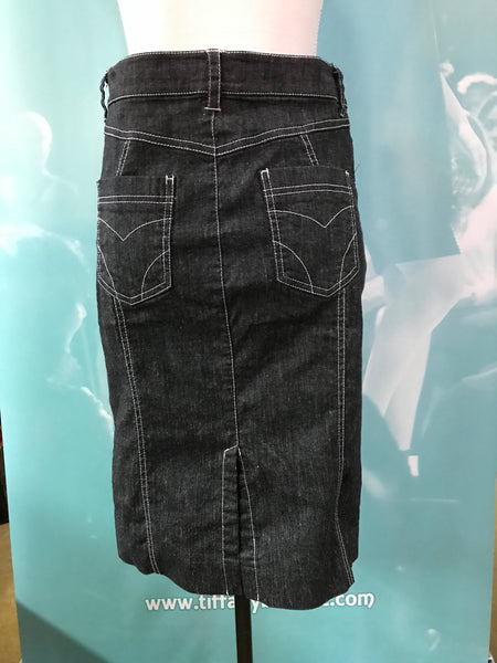 Bebe Denim Skirt