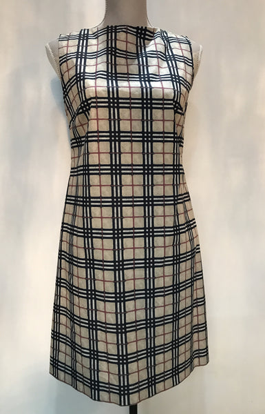Classic Burberry Dress