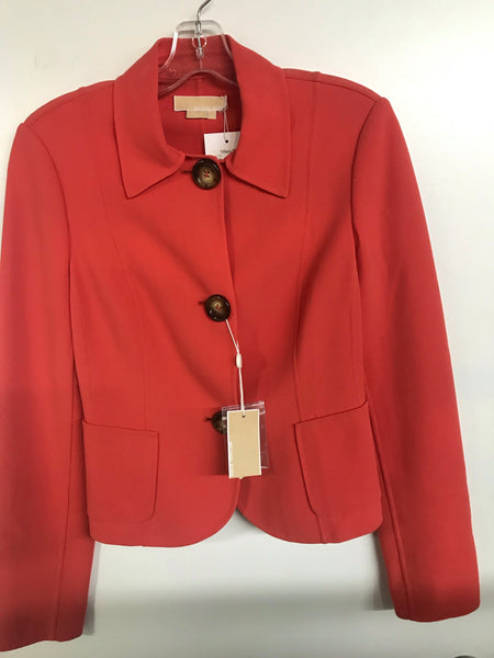 Michael Kors Front Button Blazer
