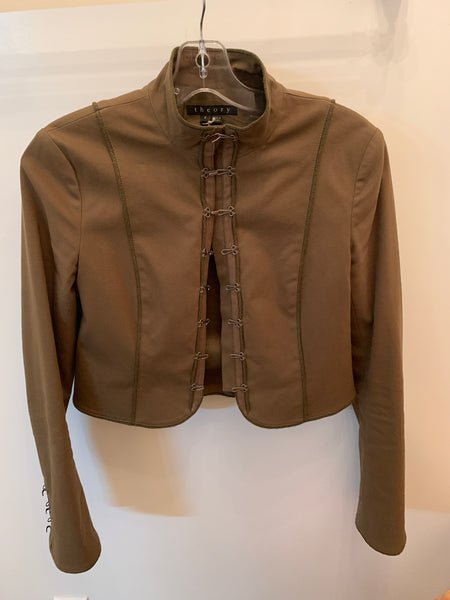 Theory Military Cropped Jacket