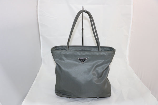 Grey Prada Mini Tote