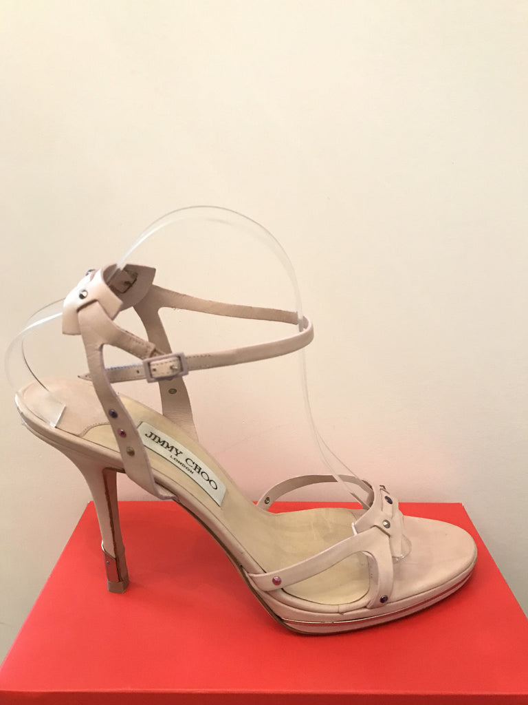 112d53528a6 Jimmy Choo Baby Pink Heels – Tiffany Blue - The Designer Consignor