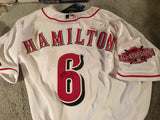BILLY HAMILTON SIGNED XL ALL STAR New w Tags MAJESTIC JERSEY