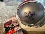ARCHIE GRIFFIN MOELLER SIGNED OHIO STATE BUCKEYES MINI HELMET with JSA COA