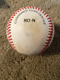 PAUL O'NEILL SINGED ON BART GIAMATTI VINTAGE N. L. BASEBALL with JSA COA