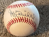 JUAN MARICHAL SIGNED VINTAGE NATIONAL LEAGUE BASEBALLL with JSA COA