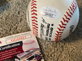 DUKE SNIDER SIGNED VINTAGE NATIONAL LEAGUE BASEBALLL with JSA COA
