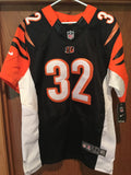 JEREMY HILL SIGNED NIKI ON FIELD JERSEY SIZE 44 CINCINNATI BENGALS