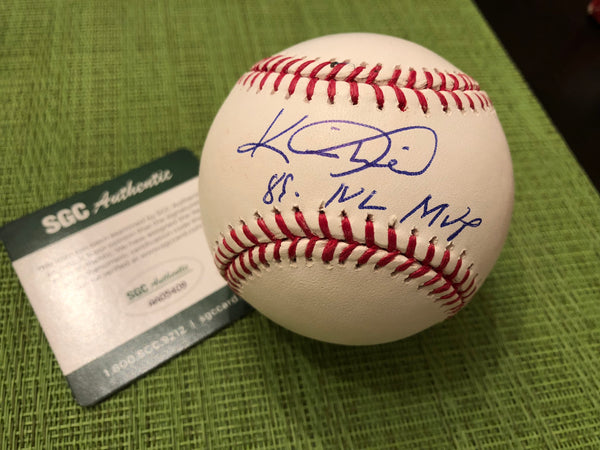 Kevin Mitchell Signed & Inscribed MLB Ball SGC COA