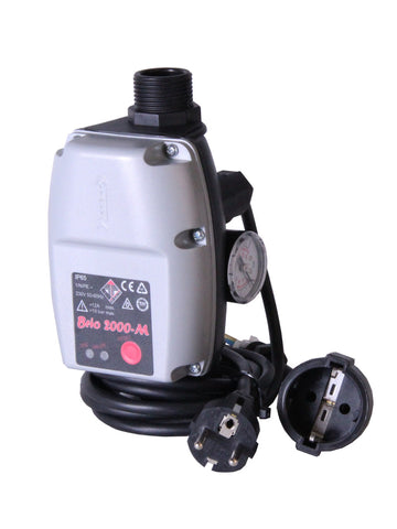 BRIOMATIC - Pressure and flow controller incl. electrical plugs