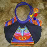 Laurel Burch Feline Scoop Tote