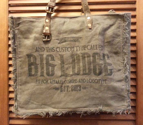 Big Lodge Fringed Tote