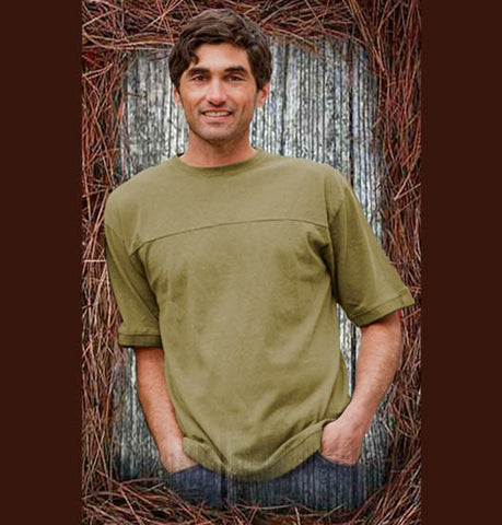 Hemp Horizon Short Sleeve Pullover Tee