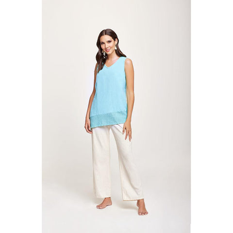 Caspio Cotton Tank Top by Dunes