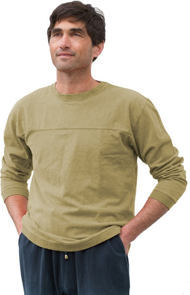 Hemp Horizon Long-Sleeve Pullover Tee