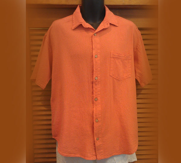Sea Breeze cotton camp shirt
