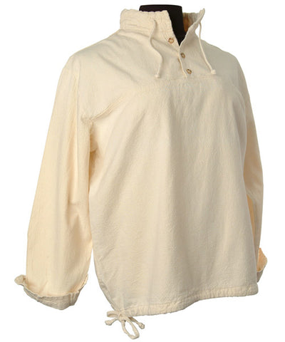 Long-Sleeve 3-Button Pullover