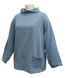 Canton fleece beach cruiser pullover