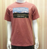 Men's Tee Shirt in Brick