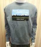 Crewneck Sweatshirt in Ice Blue