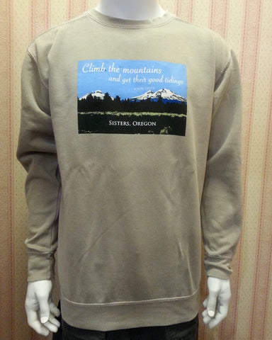 Crewneck Sweatshirt in Sandstone