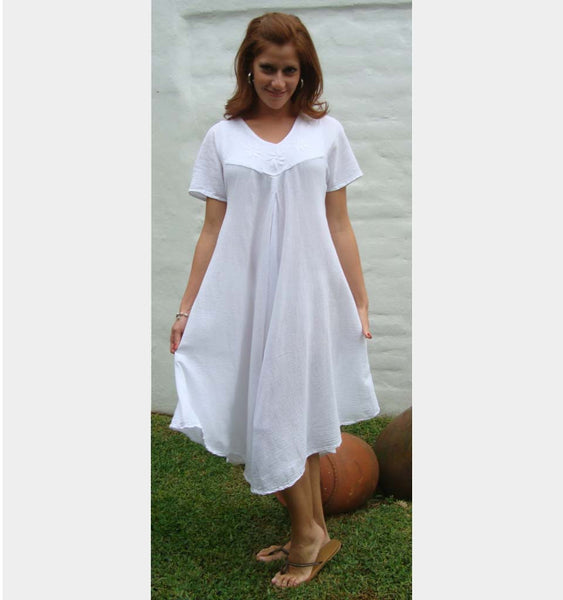 Cotton gauze Chante dress