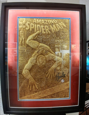 Custom Shadow Box Frame for Amazing Spider-Man Cover