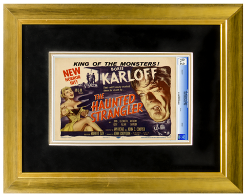 Premium Graded Lobby Card Frame