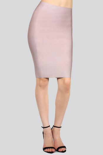Bandage Luxe Pencil Skirt - Candles Fashion House