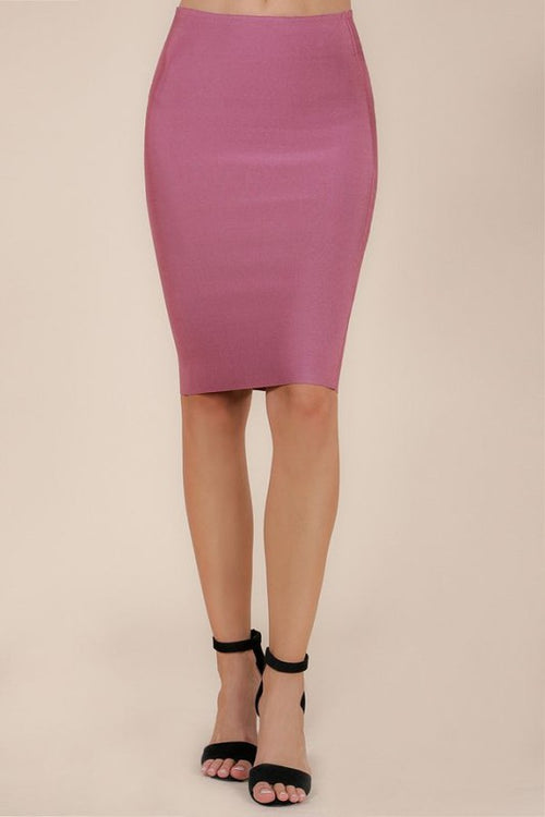 Pencil Bandage Skirt - Candles Fashion House