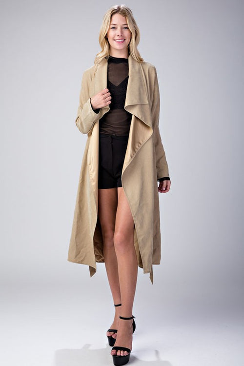 Lightweight Duster Jacket - Candles Fashion House