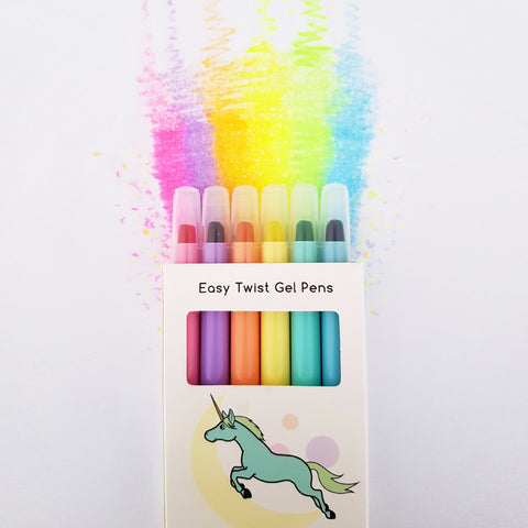 Magic Waxi™ Neon Gel Crayon Mini Pack - Lunables