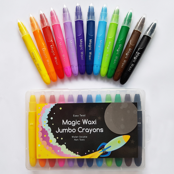 Magic Waxi™ Jumbo Gel Crayons - Lunables