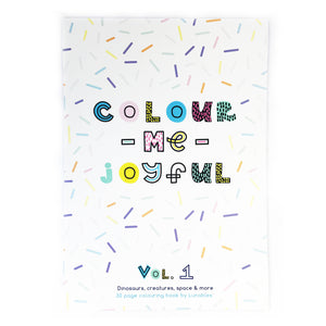 Colour Me Joyful (Volume 1) - A3 Colouring Book - 30 Pages - Lunables