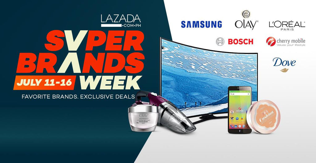 Super Brands for Super Deals!