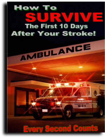 How To Survive The First 10 Days After Your StrokeFree e-books - Bren Store