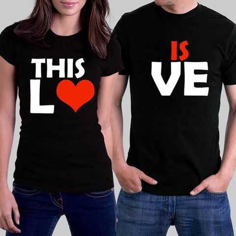 Couple Shirt THIS IS LOVE